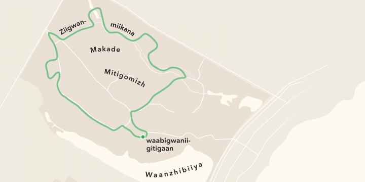 Walk the Mikinaak