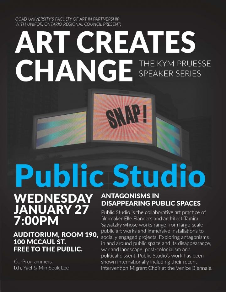 Art Creates Change Poster