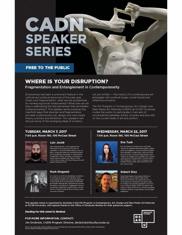 CADN Speaker Series