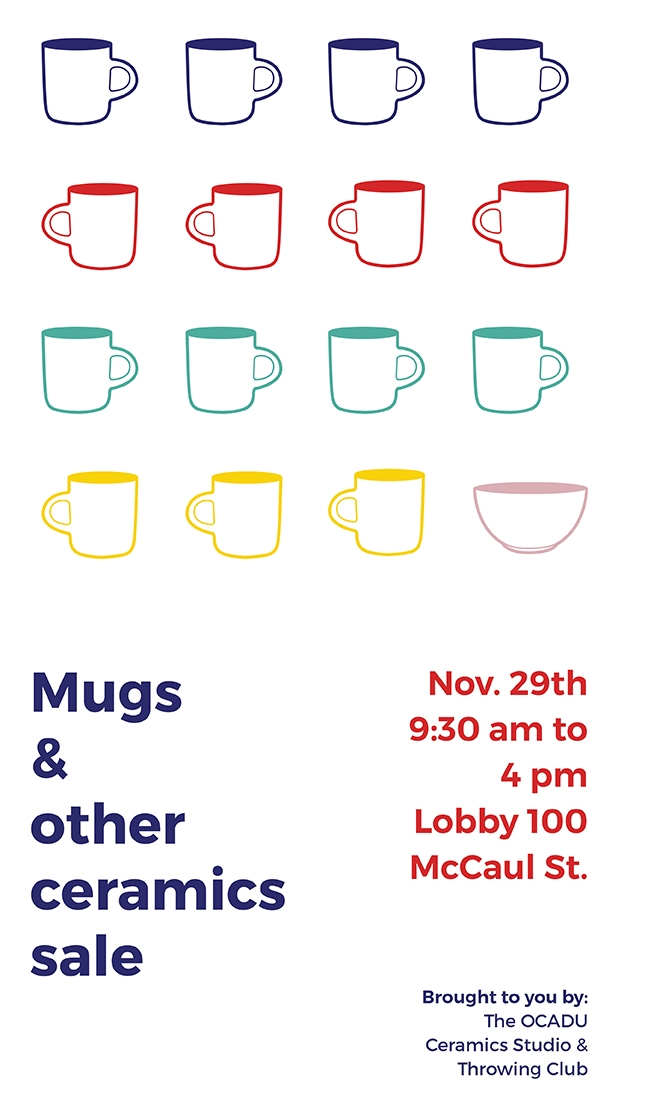 Mugs and other ceramics sale