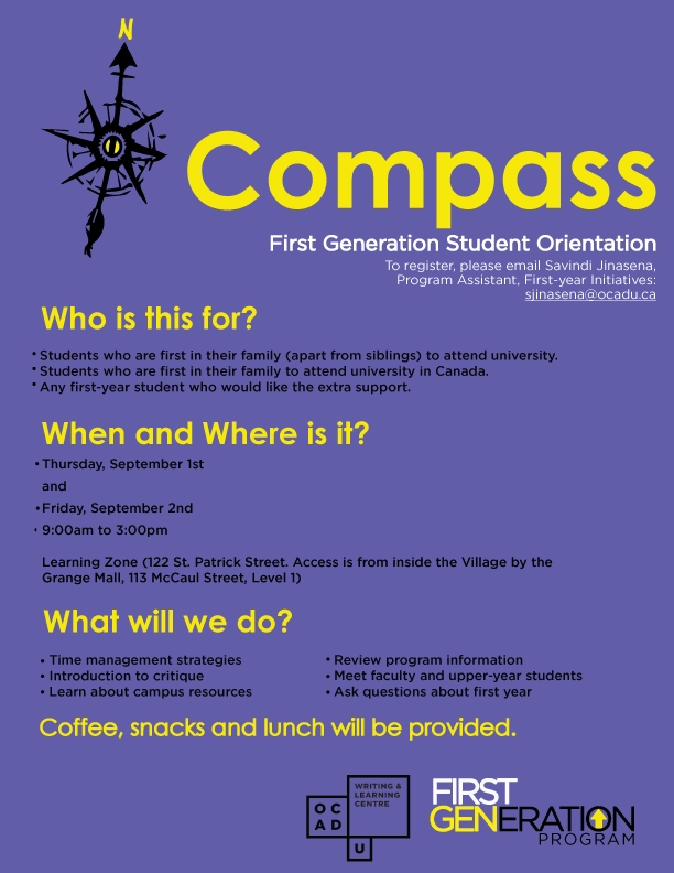 COMPASS poster