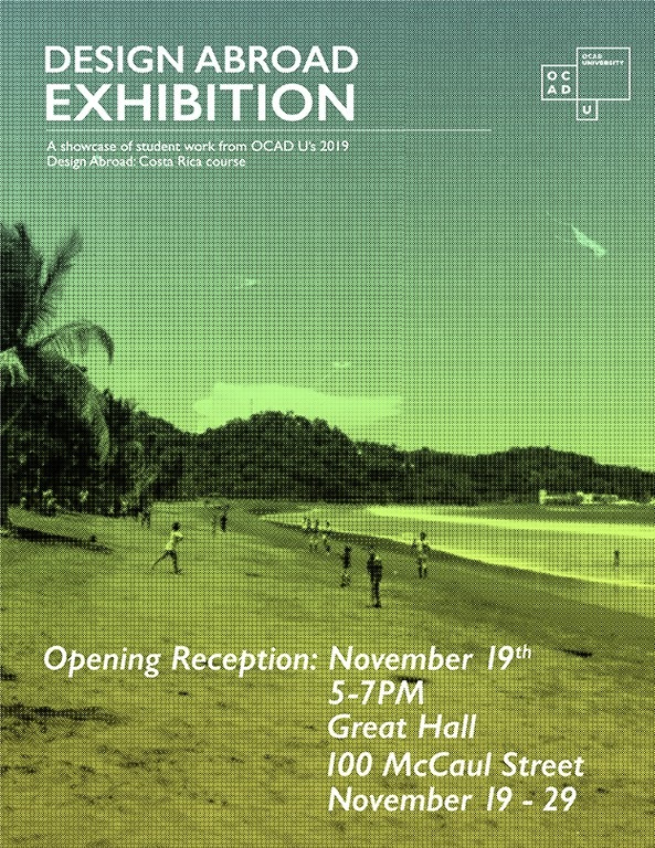 Design Abroad Exhibition Poster