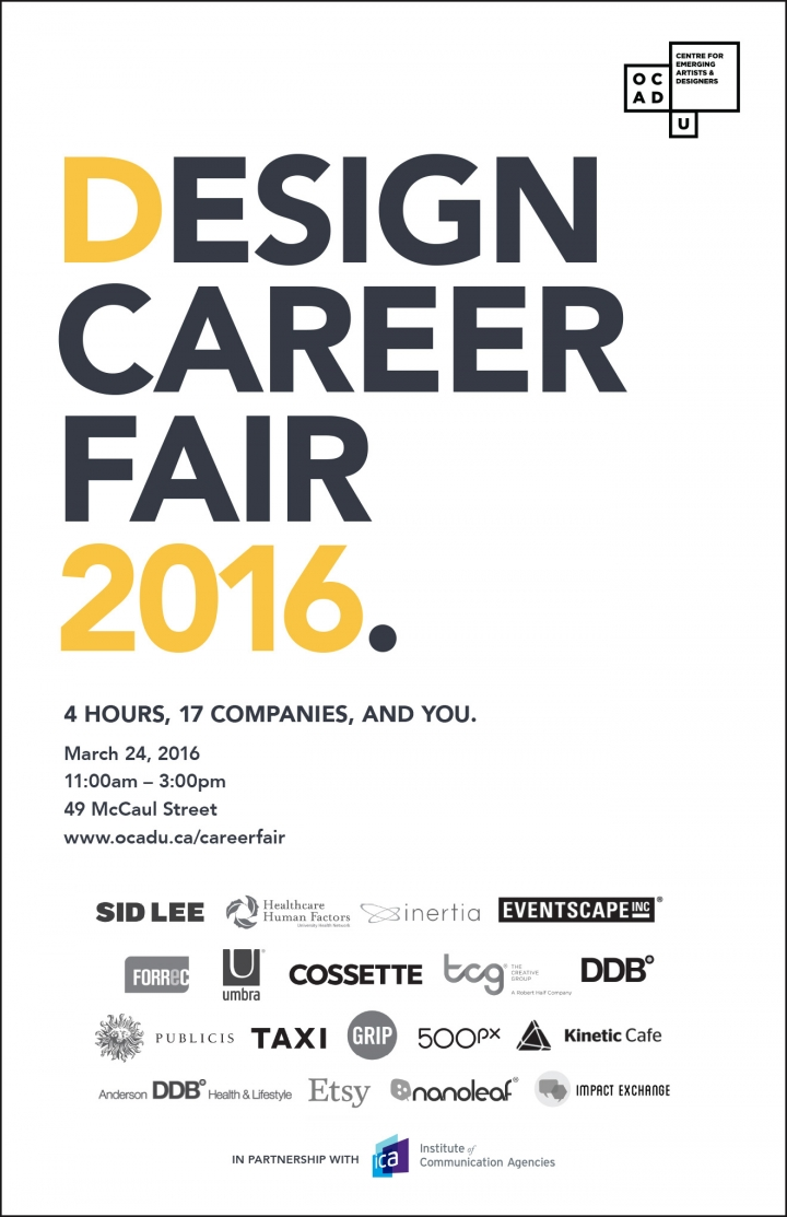 Design Career Fair Poster