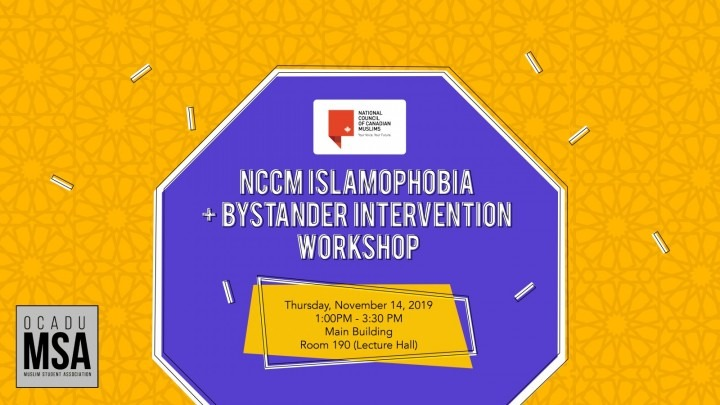 Islamophobia Workshop