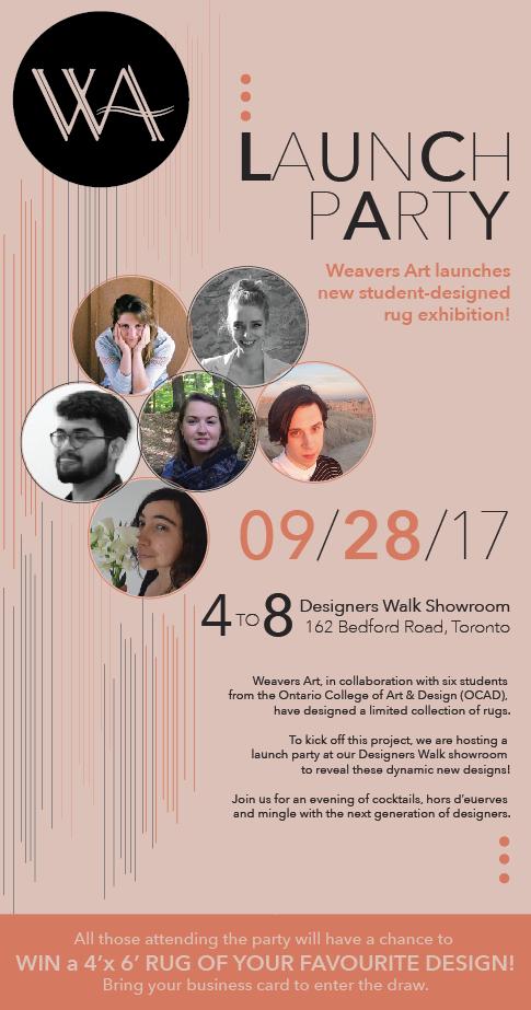 Weavers Art Launch Party
