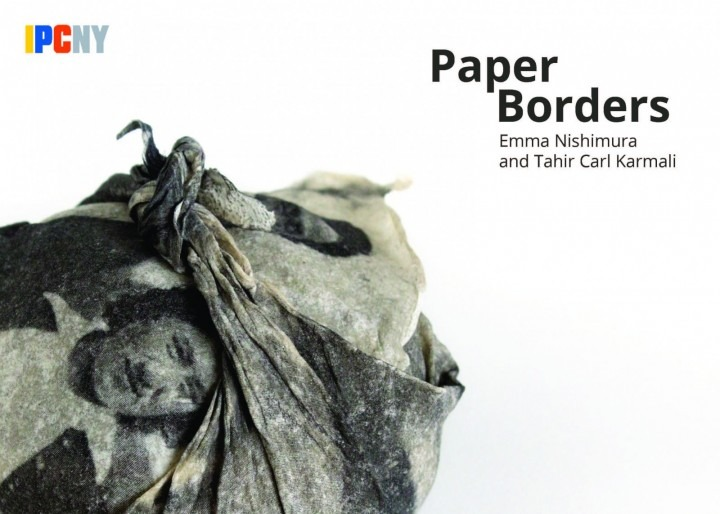 image of a figurative paper sculpture