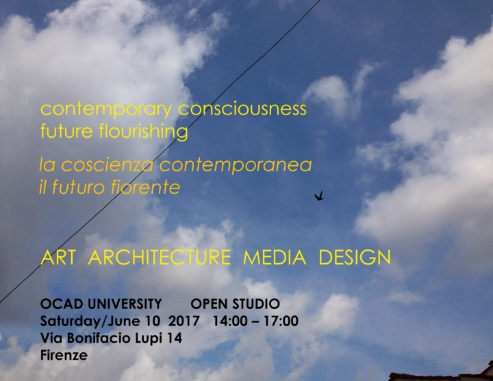 Poster Florence Open Studio
