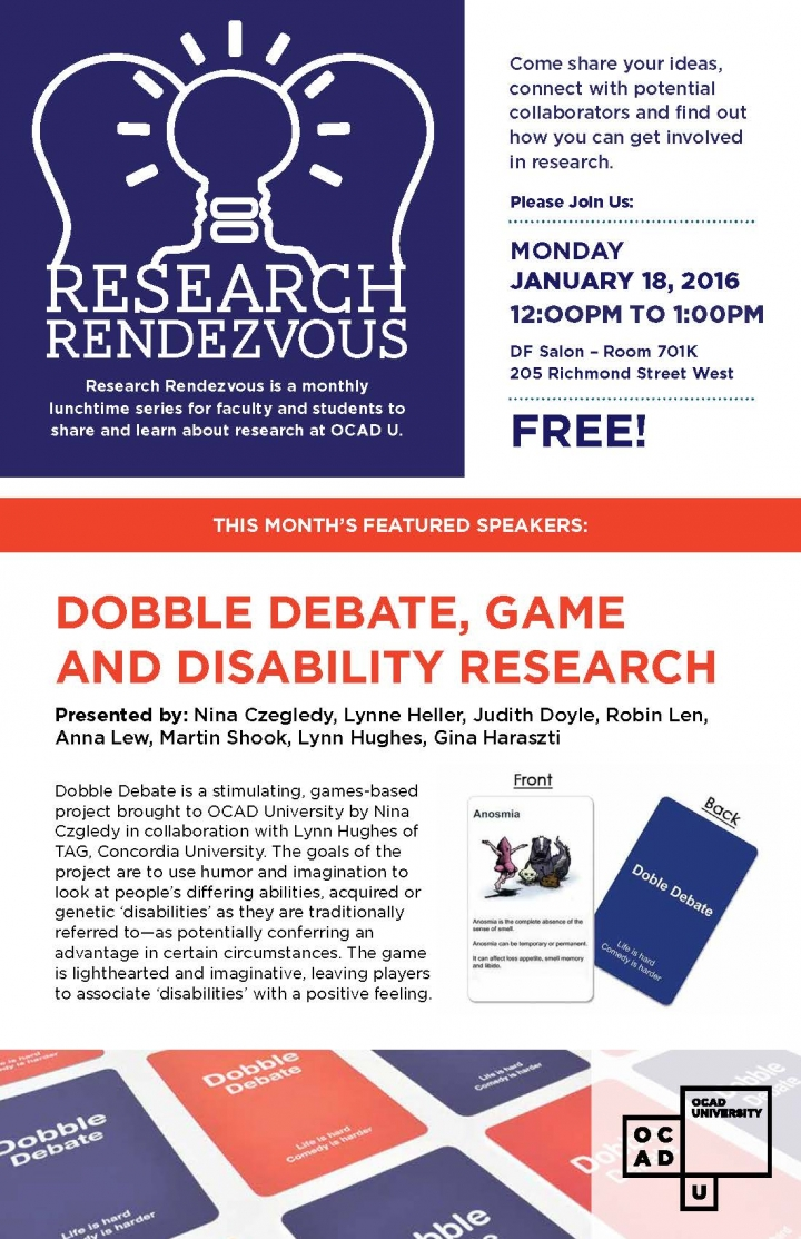 Research Rendezvous poster with event info