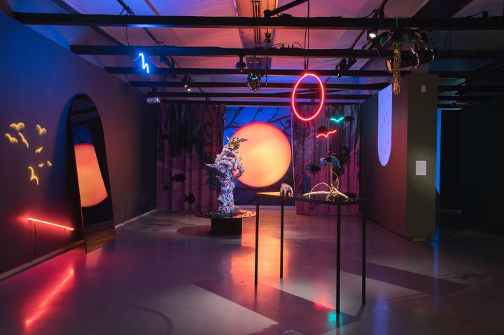 Installation view: How to Breathe Forever, Onsite Gallery, OCAD University, Toronto, 2019. Photo: Yuula Benivolski.