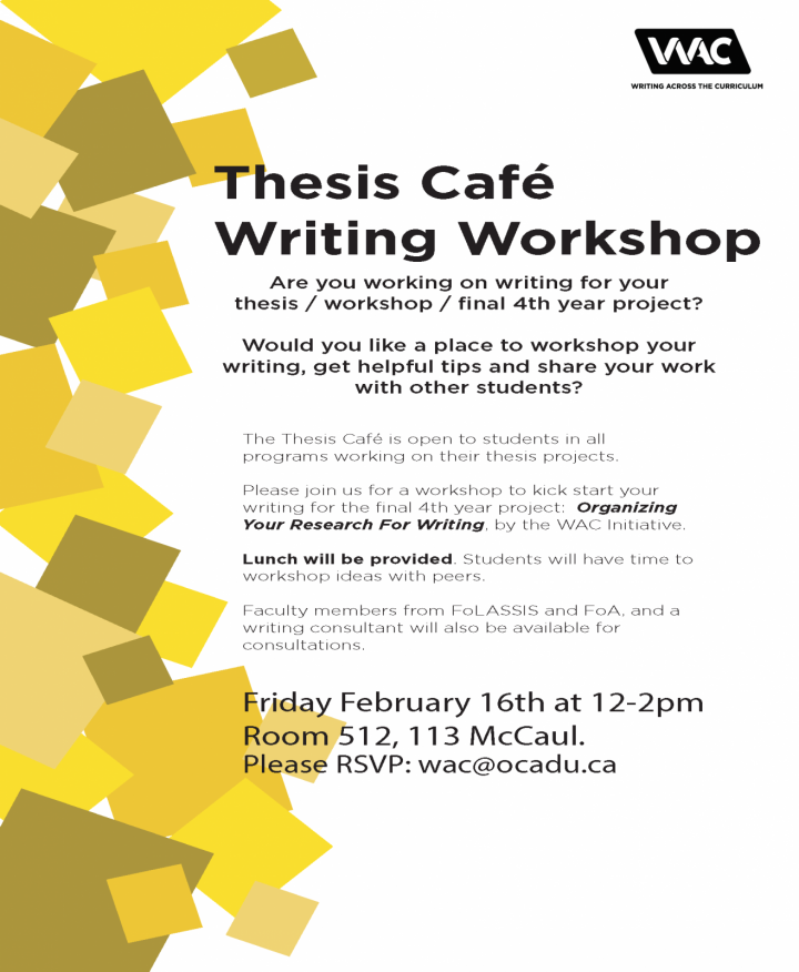 Thesis Cafe