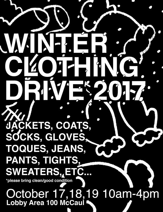 graphic for Winter Clothing Drive 2017