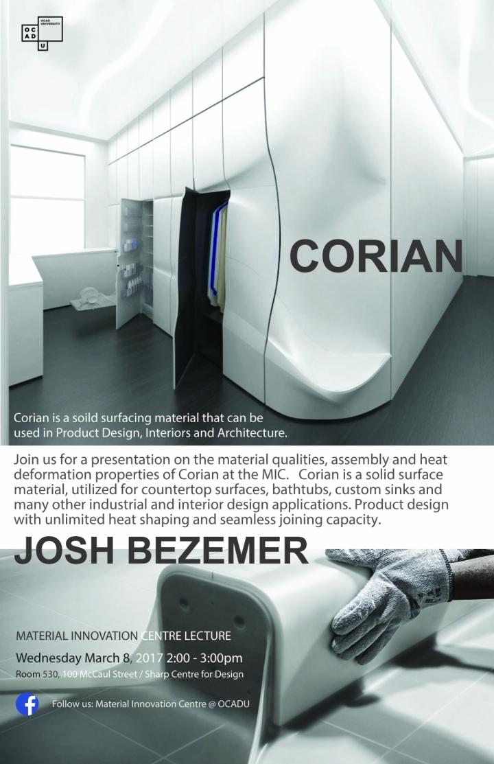 Corian Lecture