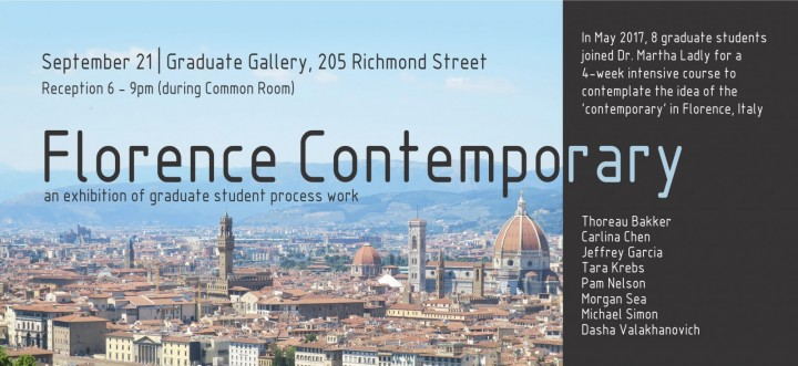 Florence Exhibition Poster