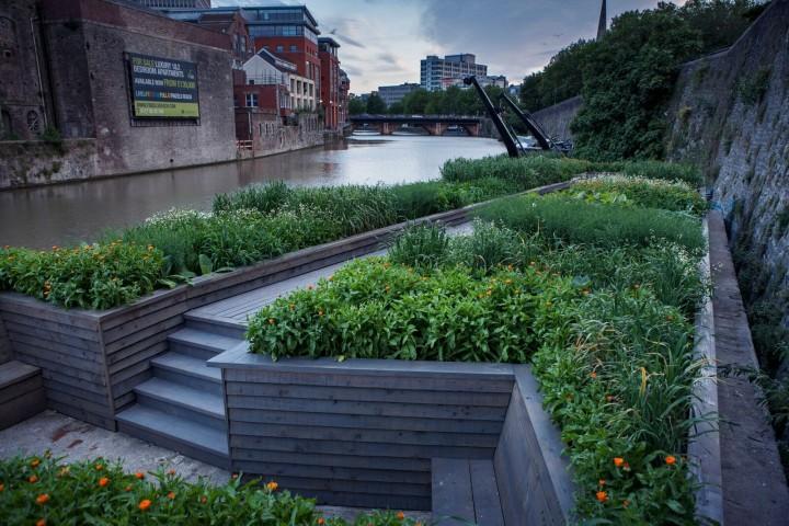 Photo of garden installation
