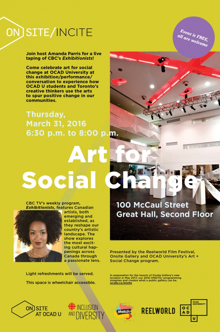 The Art for Social Change poster