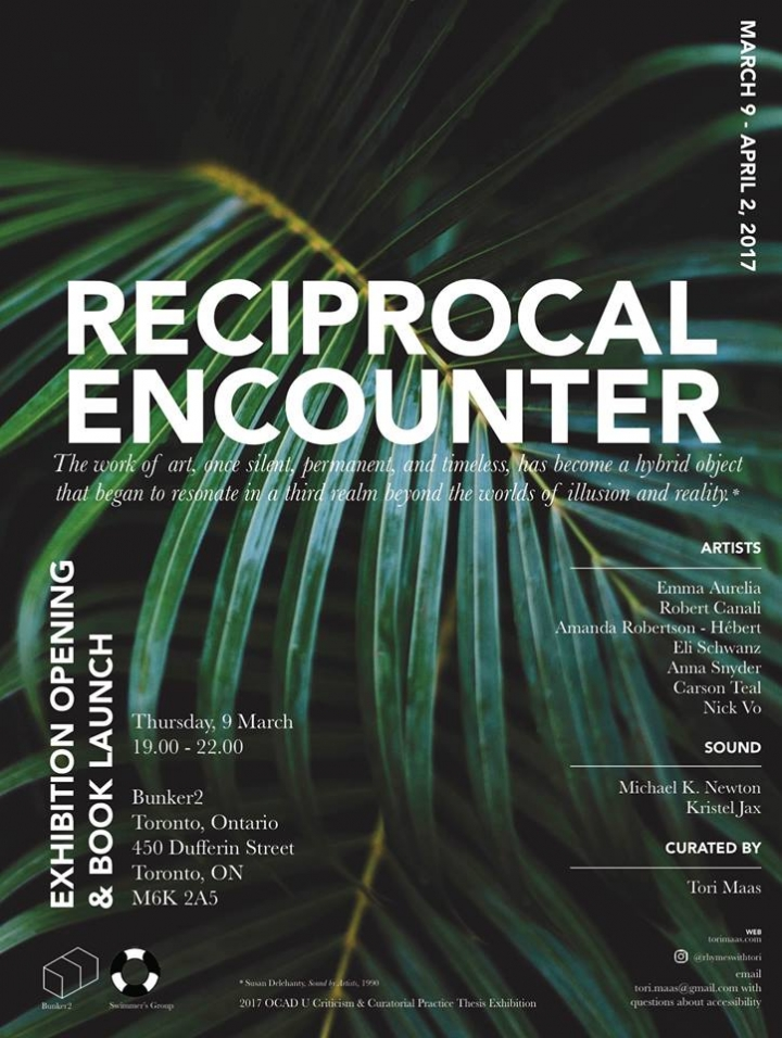reciprocal encounter poster
