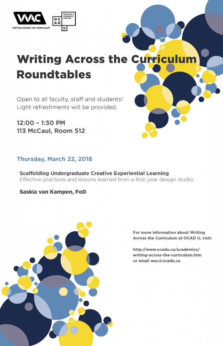 WAC Roundtable March 22