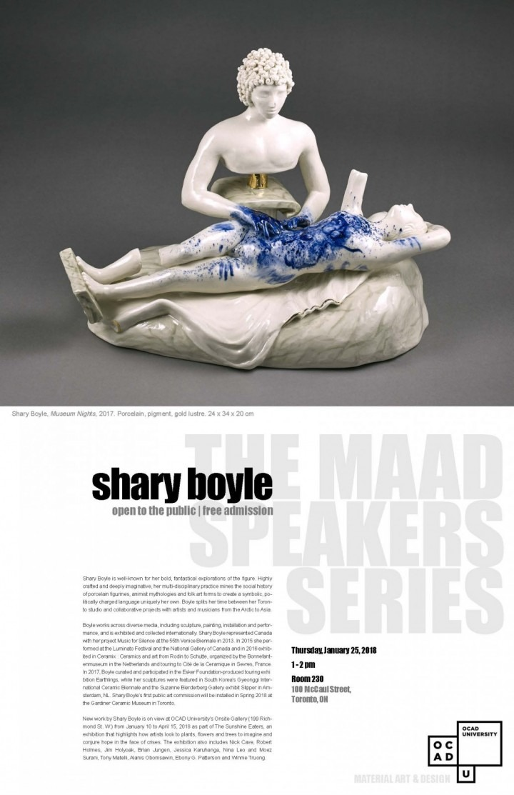 Shary Boyle Artist Talk