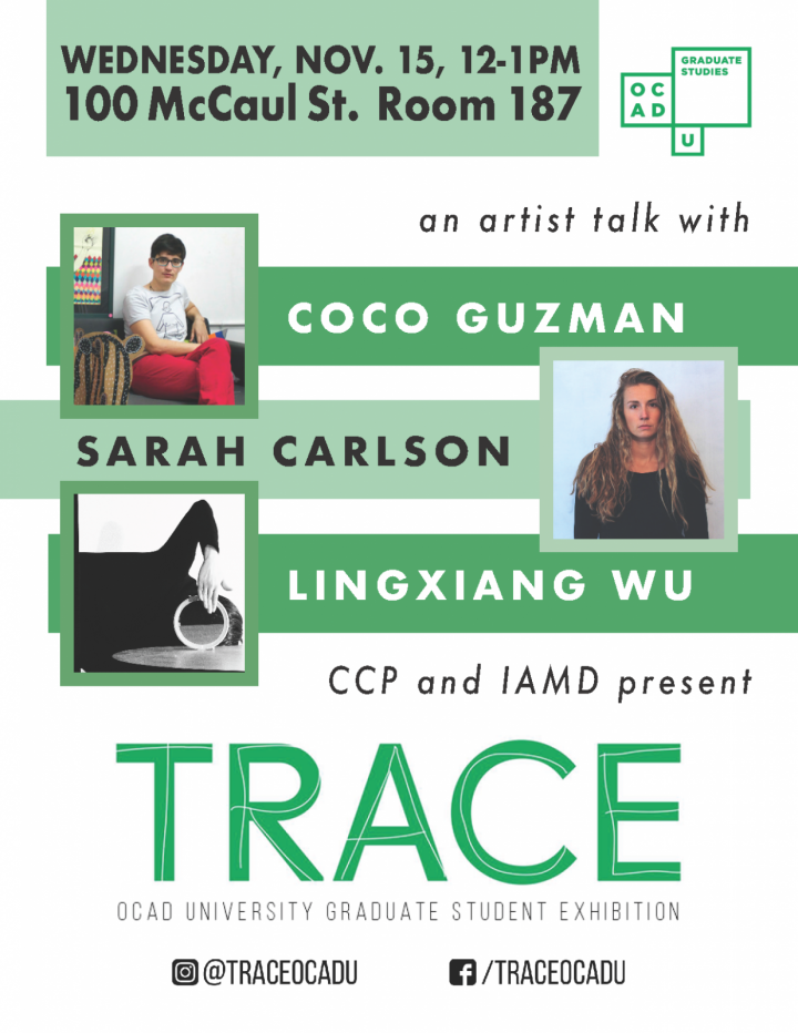 TRACE Artist Talks