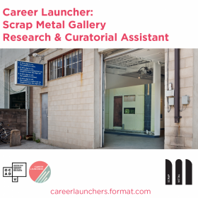 Call for Applications - Scrap Metal Gallery Research & Curatorial Assistant