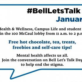 #BellLetsTalk Day