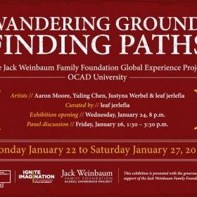 Wandering Ground: Finding Paths