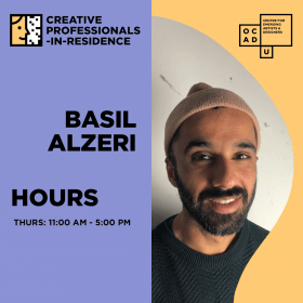 BASIL ALZERI | CREATIVE PROFESSIONAL-IN-RESIDENCE