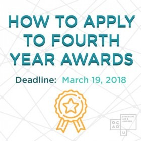 How to Apply to Fourth Year Awards