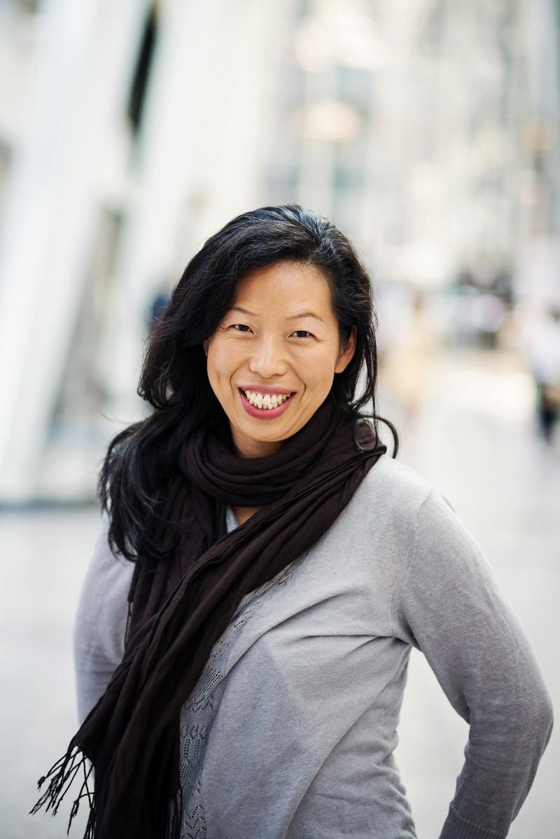 Portrait of filmmaker Min Sook Lee
