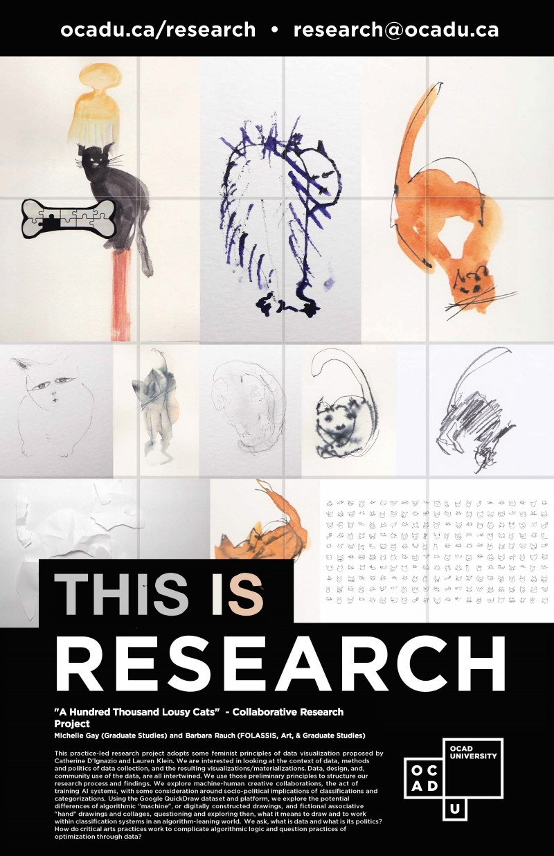 """This is Research"" Poster: One Hundred Thousand Lousy Cats"
