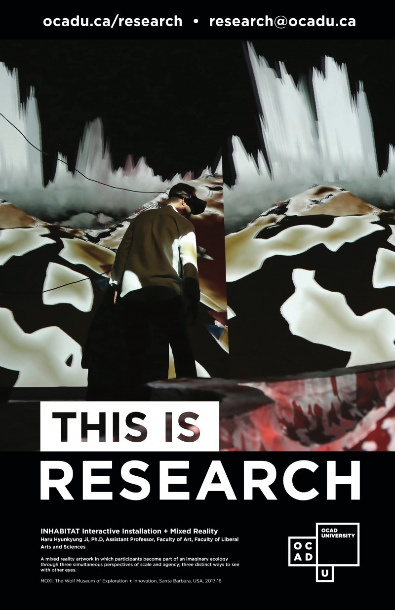 """This is Research"" Poster: INHABITAT"