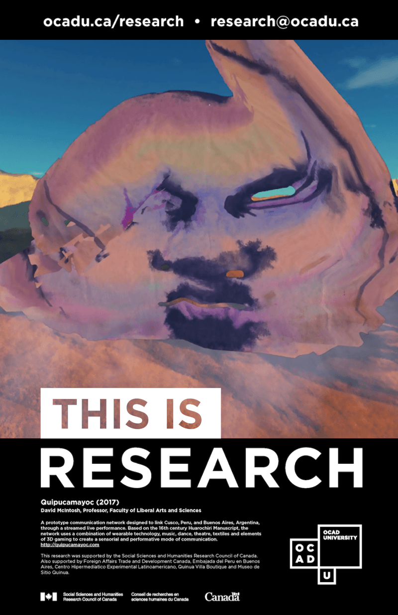 """This is Research"" Poster: Quipucamayoc"