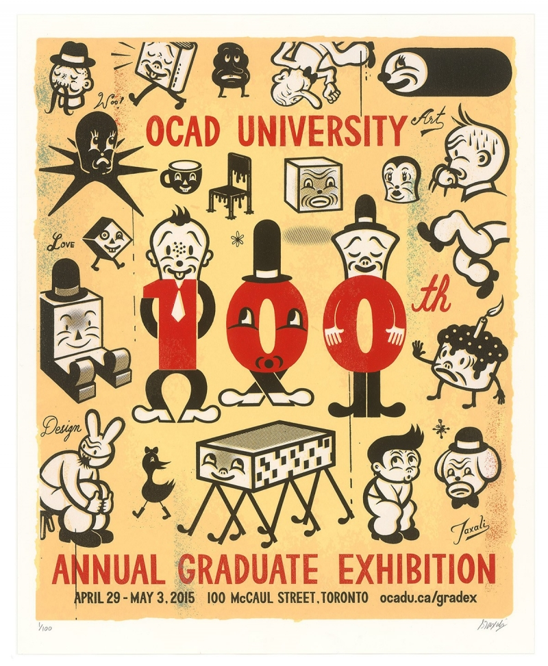 Poster for the 100th GradEx