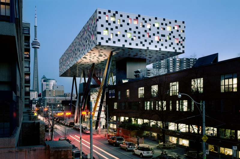 Picture of Sharp Centre at night