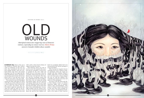 Old Wounds by Selena Wong, published in Maisonneuve magazine