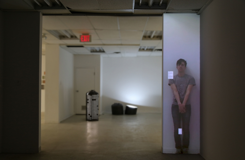 Video still from James Rollo work
