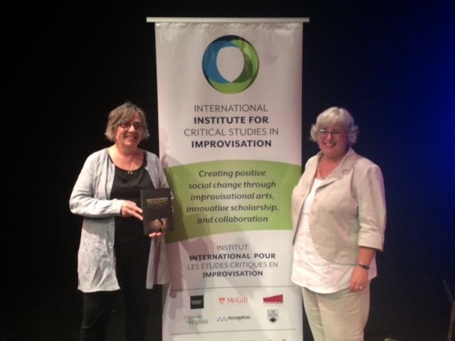 Gillian Siddall and Ellen Waterman at book launch