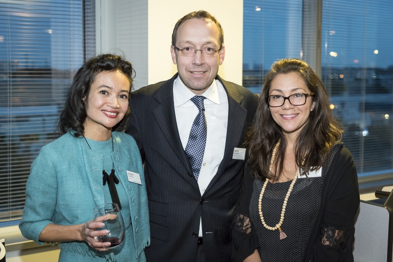 Natalie Waldburger, Stefan Karrenbauer and Leila Matta, Photo by John Goldstein