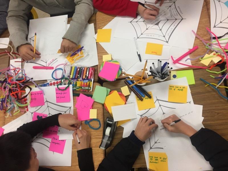 Storytelling Co-design Workshop with ESL high school students - Spring 2019