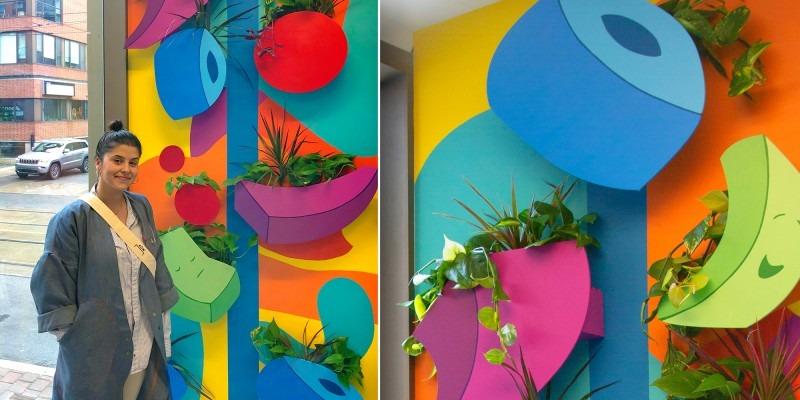 Raquel Da Silva Wall Work