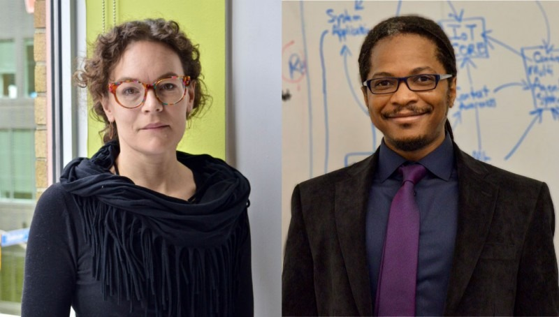 Dr. Kate Sellen, Associate Professor, Faculty of Design and Dr. Alexis Morris, Assistant Professor, Faculty of Liberal Arts & S
