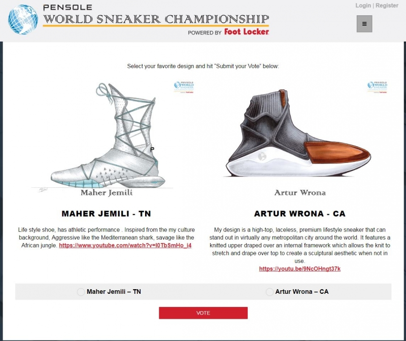 e83409875f2 OCAD University s student Artur Wrona has made it to the next round of the  2017 Pensole World Sneaker Championship. Voting is underway and it s open  until ...
