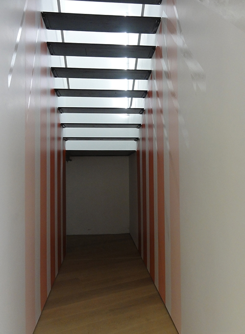 Step Lightly by Kristina Hicks, installed at Relative Space.