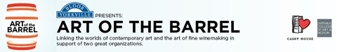 Bloor-Yorkville presents an innovative fundraiser that brings together the worlds of contemporary art and winemaking