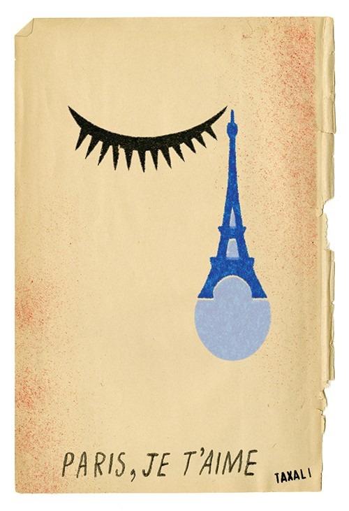 Gary Taxali's illustration called Paris
