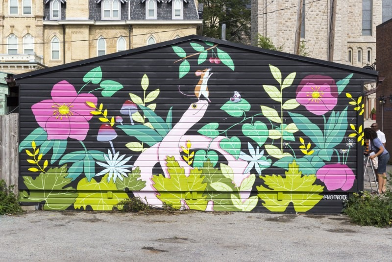 mural by Sarah Cannon