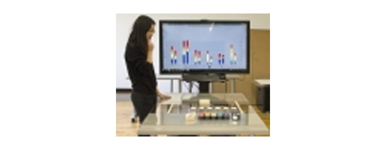 Image from Visual Analytics Lab: Tangible Interfaces