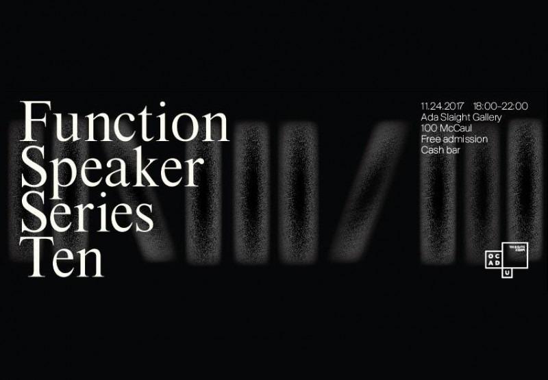 Function Speaker Series graphic