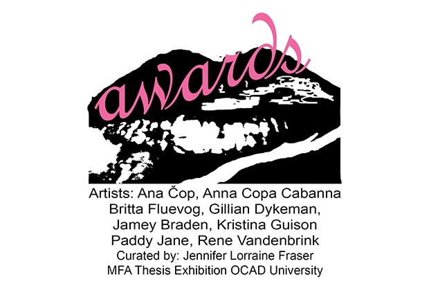 Awards Poster. Curated By Jennifer Lorraine Fraser