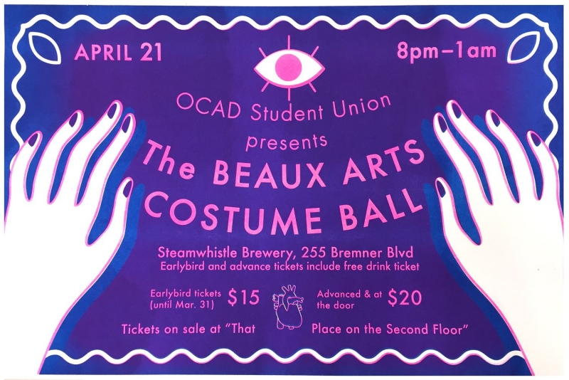 OCAD Student Union presents the Beaux Arts Costume Ball with event info